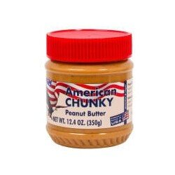 American Chunky Peanut Butter 350 G