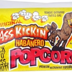 Ass Kicking Habanero Microwave Popcorn