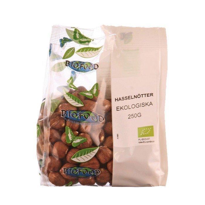 Biofood Hasselnötter 250 g