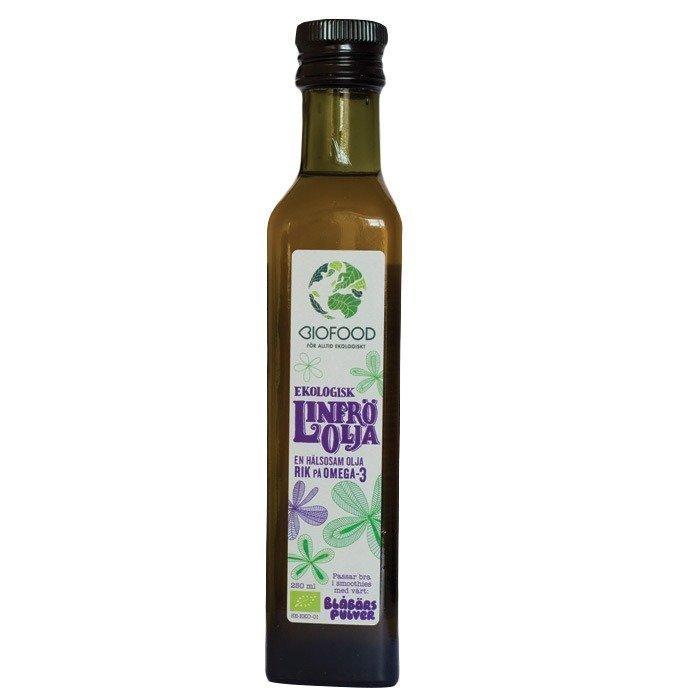 Biofood Linfrö Olja 250 ml