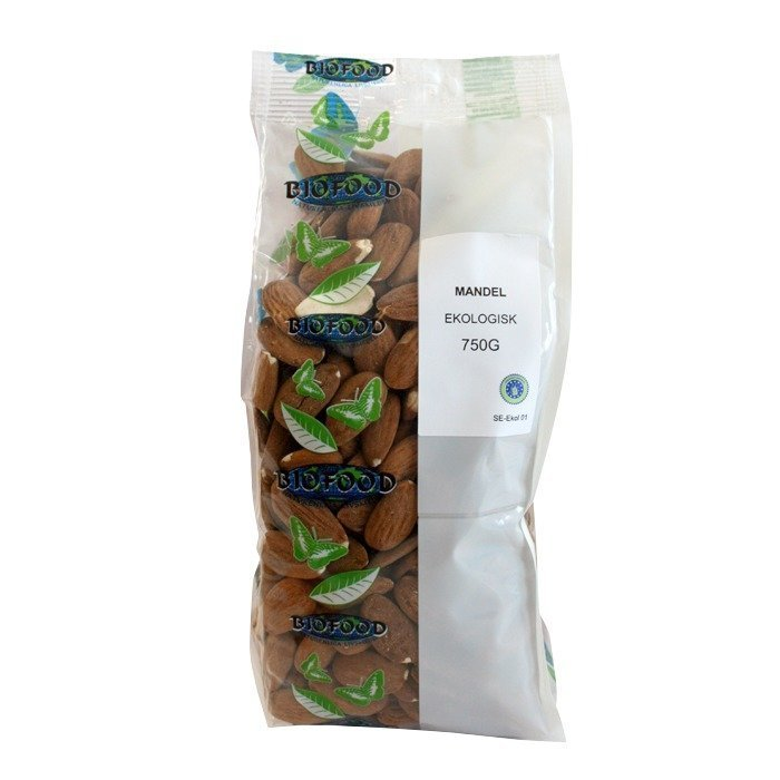 Biofood Manteli Kokonainen 250 grammaa