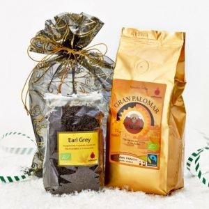 Cafetoria Tumma Paahto Kahvi 200g + Early Grey Tee 100 G