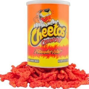 Cheetos Crunchy Flamin Hot