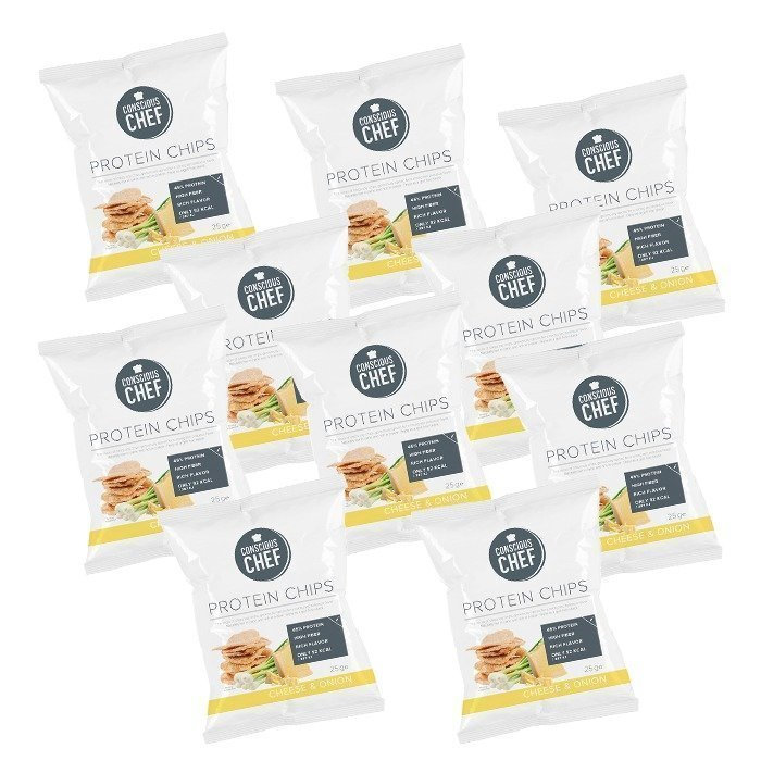 Conscious Chef 10 x Protein Chips 25 g