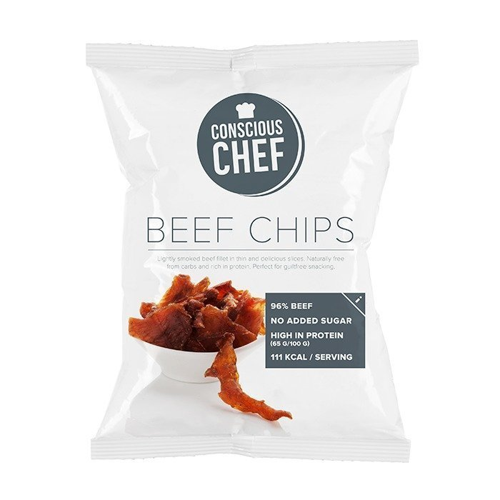 Conscious Chef Beef Chips 35 g