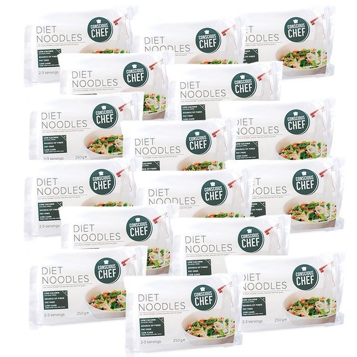 Conscious Chef Diet Noodles 250 g BIG BUY 16 pieces