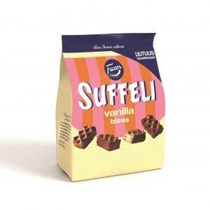 Fazer Suffeli Vanilla Bites Suklaavohveli 215 G