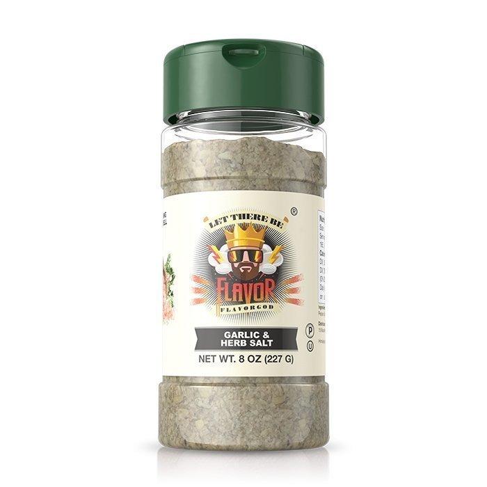 Flavor God Garlic and Herb Salt Seasoning 227 g