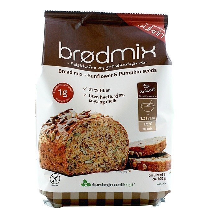 Funksjonell Mat Bread mix 1 kg