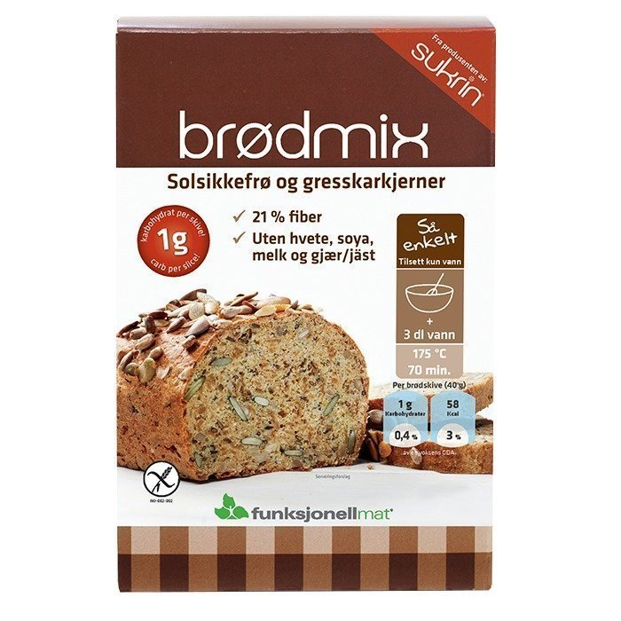Funksjonell Mat Bread mix 250 g