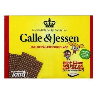 Galle&Jessen Lys Pålægschokolade 60 Stk