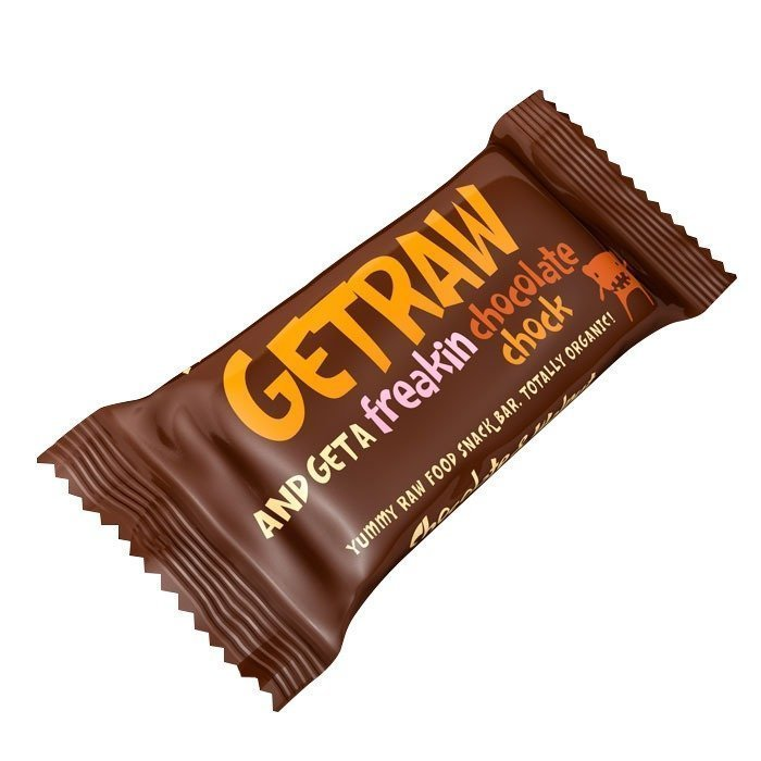 Getraw Chocolate & Walnut Snack Bar 48 g