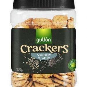 Gullón Crackers Med Quinoa- Og Chiafrø 250 G