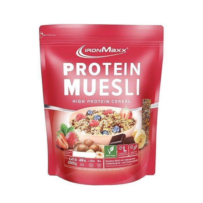 IronMaxx Protein Muesli 2000 g Hazelnut