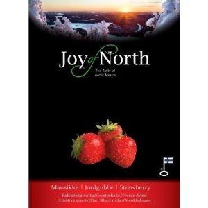 Joy of North Pakastekuivattu mansikka