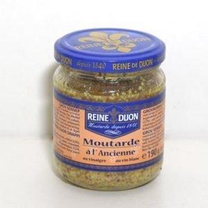 Karkea vanhanajan Dijon-sinappi