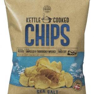 Kettle Cooked Chips Havsalt 150 G