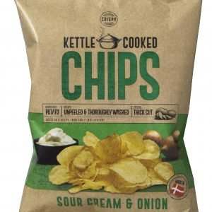 Kettle Cooked Chips Sour Creme & Onion 150 G