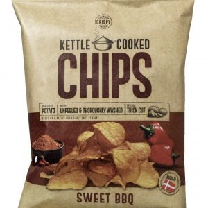 Kettle Cooked Chips Sweet Bbq 150 G