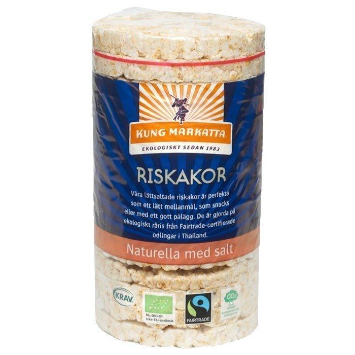 Kung Markatta Riskakor med salt Luomu 90 g