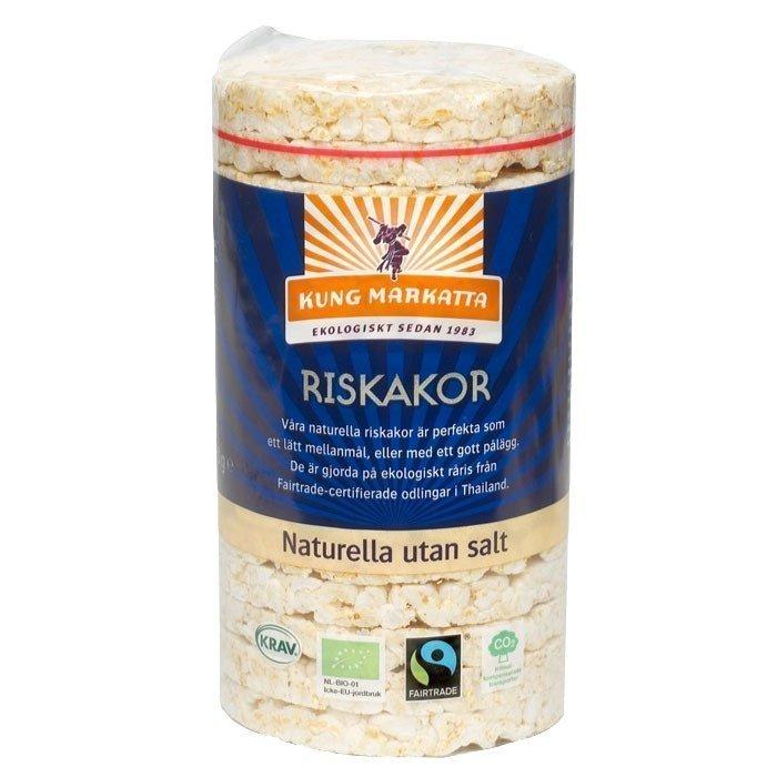 Kung Markatta Riskakor utan salt Luomu 90 g