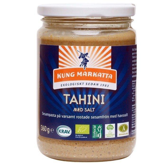Kung Markatta Tahini med salt Luomu 360 g