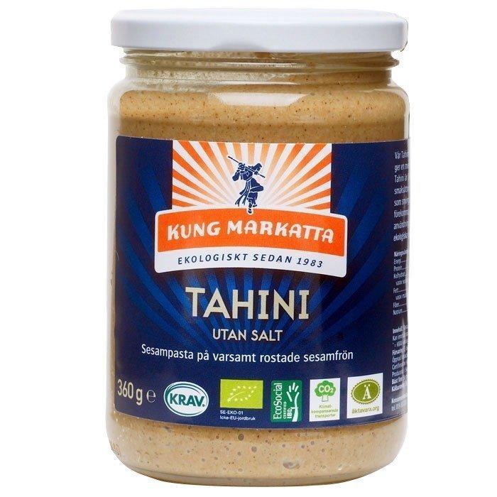 Kung Markatta Tahini utan salt Luomu 360 g