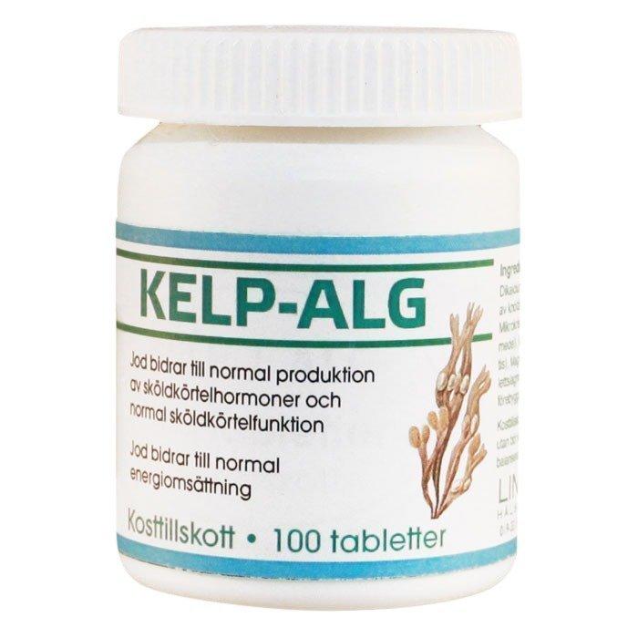 Lindroos Kelp Alg Merilevä 100 tablettia