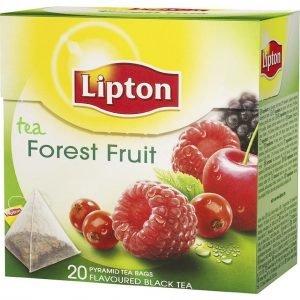 Lipton Forest Fruit Teepussi Pyramidi 20 Kpl
