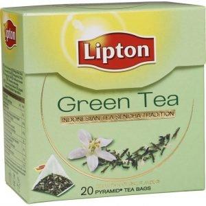 Lipton Vihreä Teepussi Pyramidi 20 Kpl