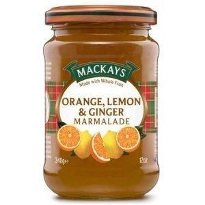 Mackays Appelsiini-sitruuna-inkivääri marmeladi