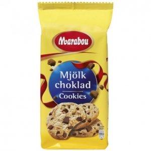 Marabou Mjölk Choklad Cookies 184 G