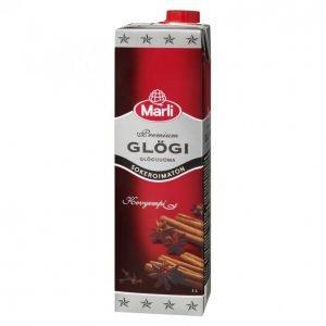 Marli Premium Sokeroimaton Glögijuoma 1l