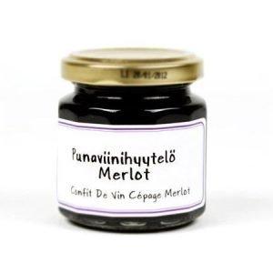 Merlot-punaviinihyytelö