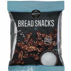 Nordthy Bread Snacks Salt 75 G