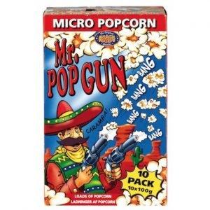 Nordthy Mr. Popgun Popcorn 10x100 G