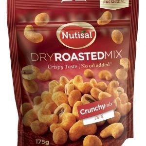 Nutisal Crunchy Mix Maustetut Pähkinät 175 G
