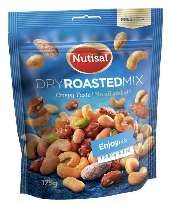 Nutisal Enjoy Mix Maustetut Pähkinät 175 G