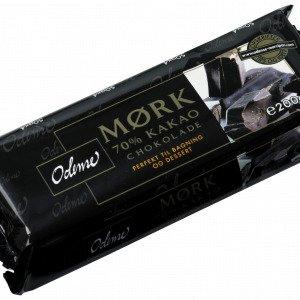 Odense Mørk Chokolade 70% 200 G
