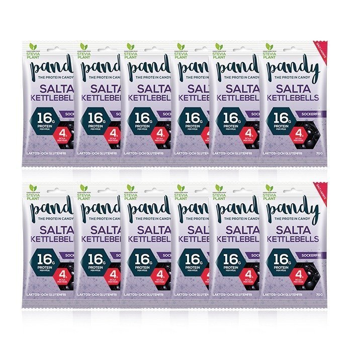 Pandy Protein 12 x Pandy Protein Candy 80 g