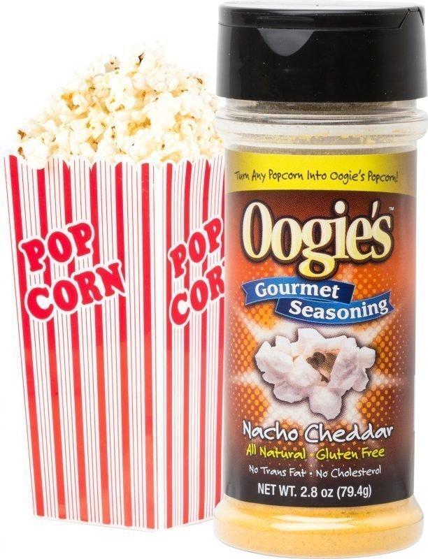 Popcornimauste Nacho Cheddar