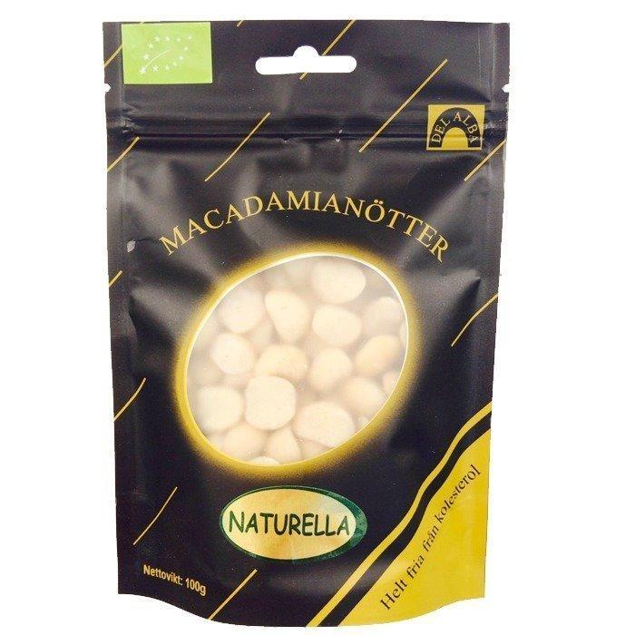 Powerfruits Raaka Macadamiapähkinä EKO 100 grammaa