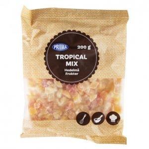 Priima Tropical Mix Hedelmäsekoitus 200 G