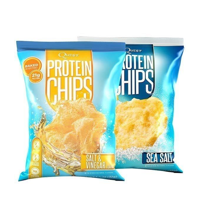 Quest Nutrition 2 x Quest Protein Chips 32 g Lyhyt päiväys