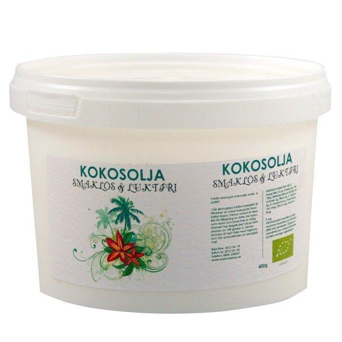 RawFoodShop Kookosrasva Mauton 400 grammaa