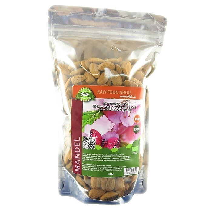 RawFoodShop Raw Manteli 500 g
