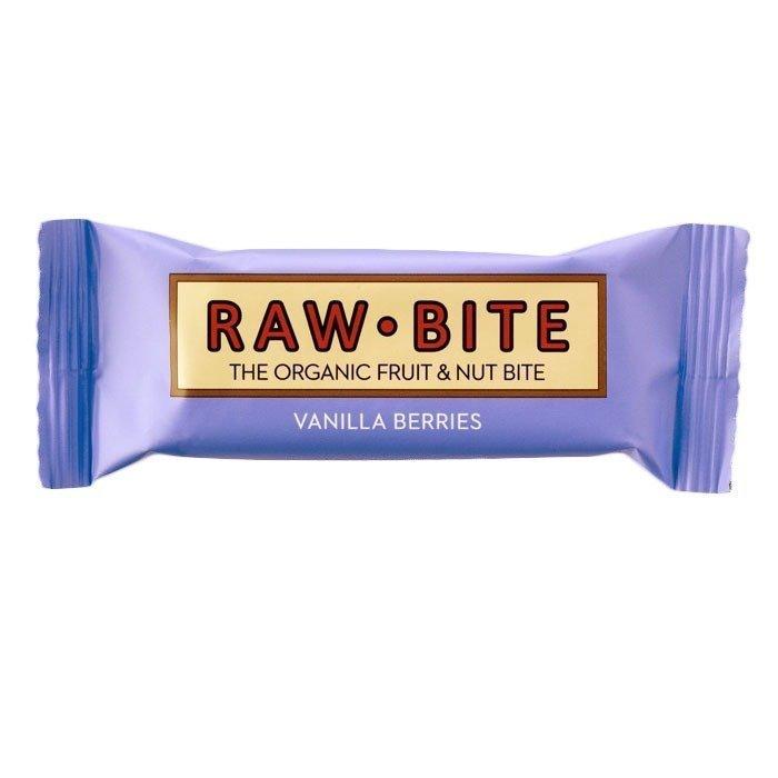 Rawbite RawBite Vanilla & Berries 50 grammaa