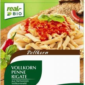 Real Bio Penne Rigate Af Fuldkorn 500 G