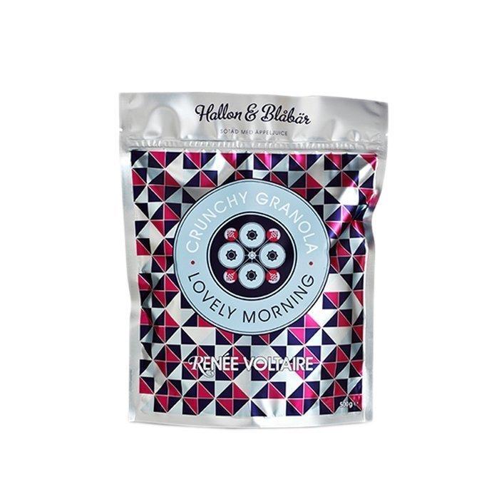 Renée Voltaire Crunchy Granola Vadelma & Mustikka 500 g