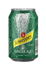 Schweppes Ginger Ale 24x33 Cl